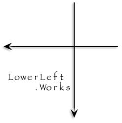 LowerLeft.Works-ロゴ